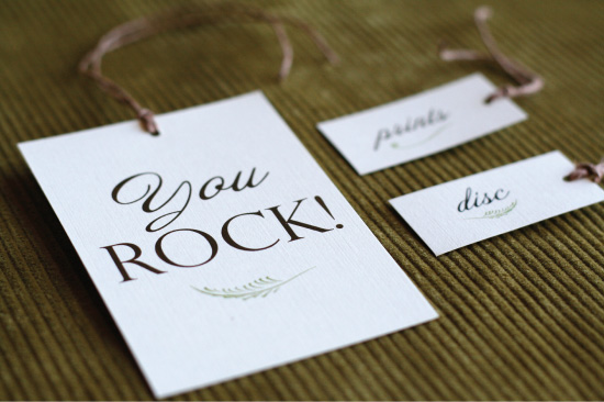 Photographer's Packaging: Custom Hang Tags | Paper and Thread ...