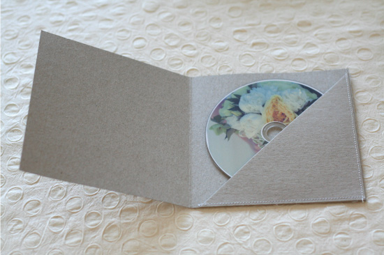 cd sleeve printing template - paper and thread studio blog custom invitations stationery